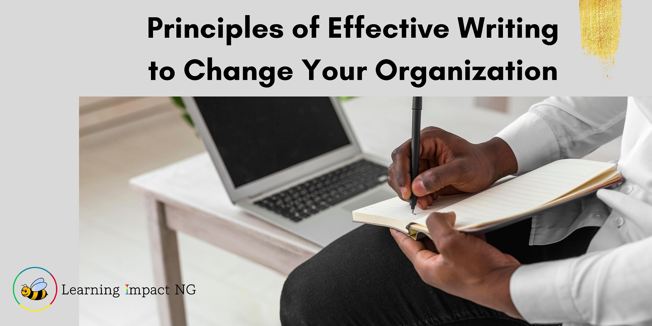 Principles of Effective Writing to Change Your Organization, by Omagbitse Barrow
